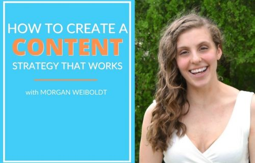 How to Create a content strategy that works with morgan weilboldt