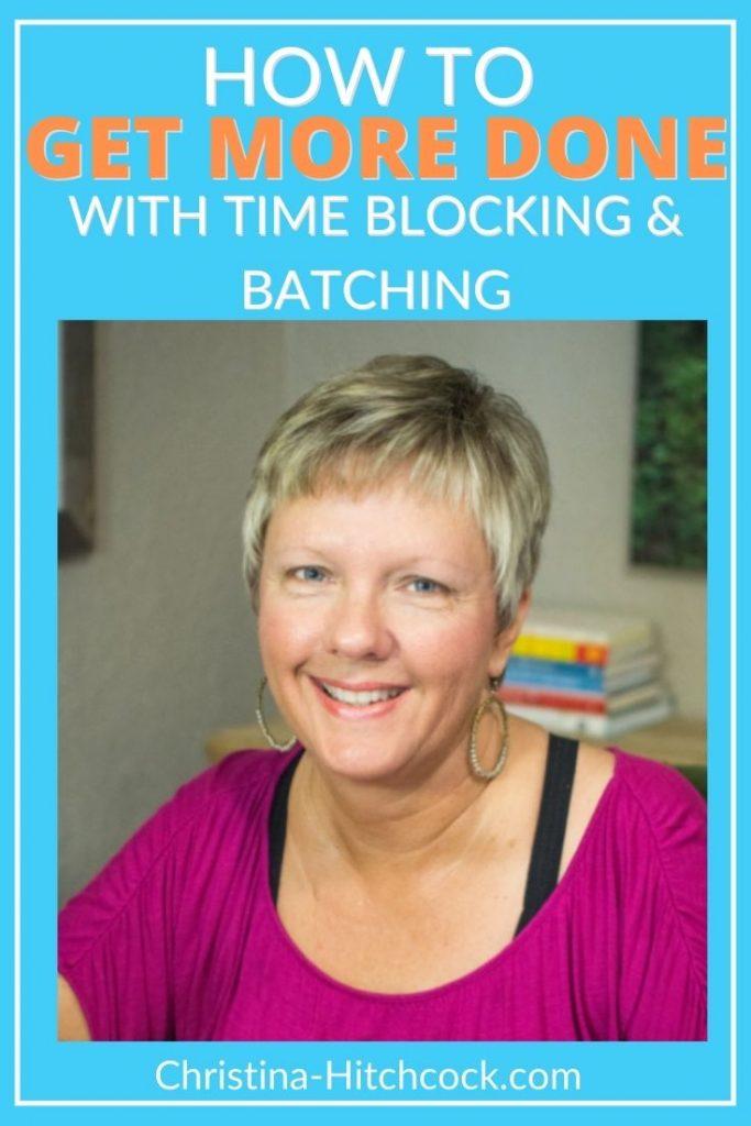 Kristi Veitenheimer discusses time blocking and batching